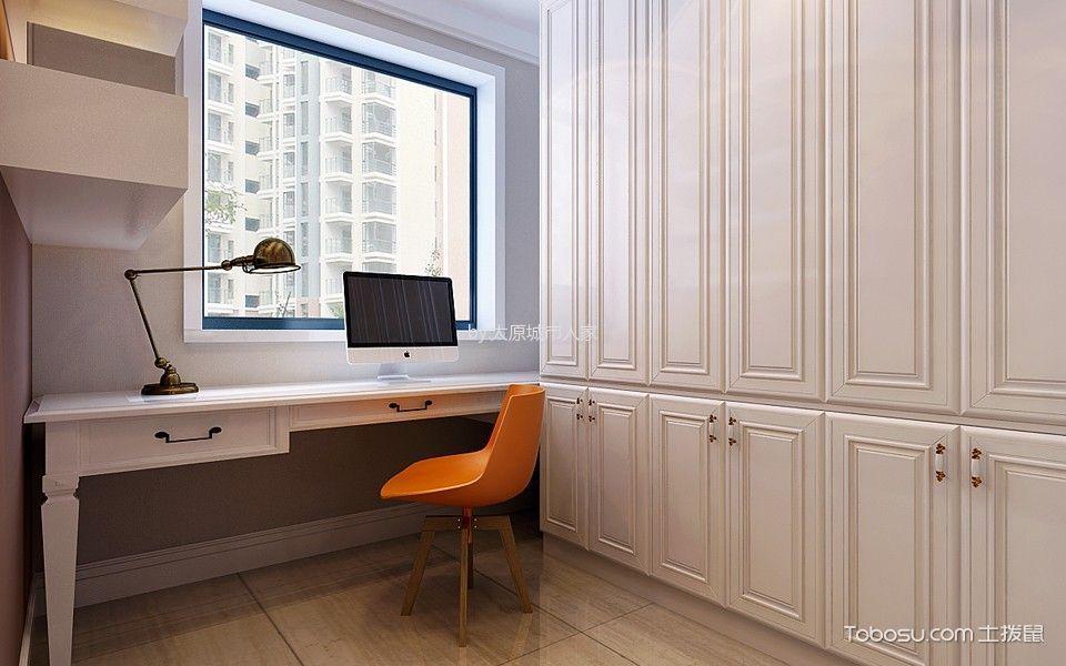 卧室白色衣柜现代简约风格装修图片