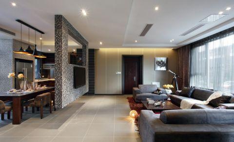 现代简约风格140平米四室两厅室内装修效果图