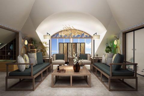 日式风格280平米大户型房子装饰效果图