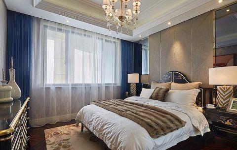 卧室飘窗现代欧式风格装修图片