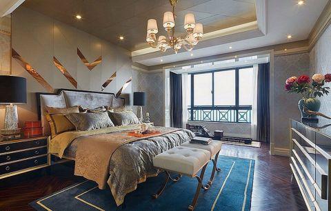 卧室吊顶现代欧式风格装潢图片