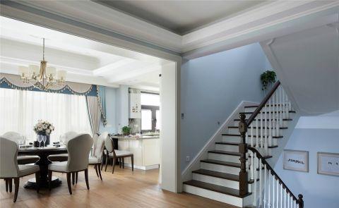 餐厅楼梯现代简约风格装饰设计图片