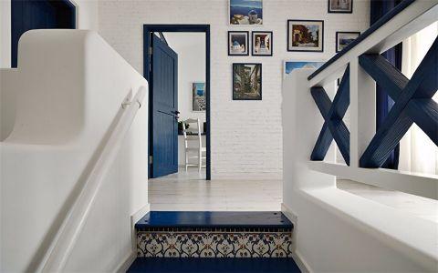 楼梯地中海风格装修效果图