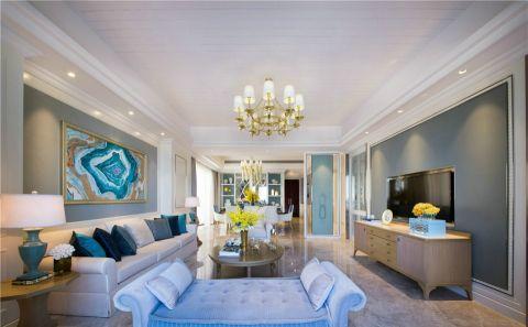 混搭风格280平米大户型新房装修效果图