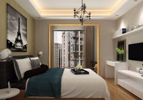 卧室吊顶简约风格装饰效果图