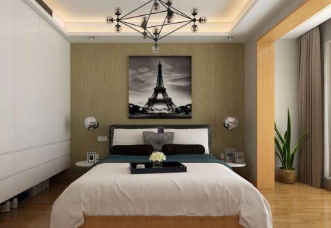卧室地板砖简约风格装潢效果图
