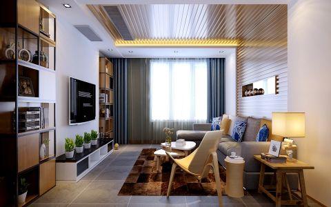 现代简约风格250平米别墅新房装修效果图