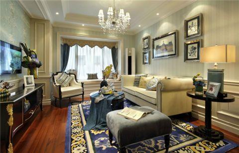 美式风格400平米三别墅室内装修效果图