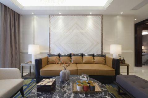 合生国际城新中式三居室效果图