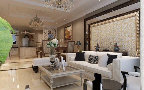 简欧风格100平米2房2厅房子装饰效果图