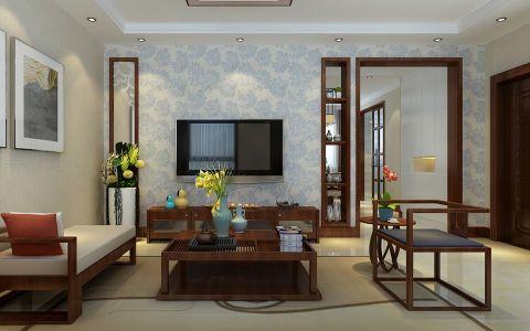 现代简约风格140平米楼房室内装修效果图