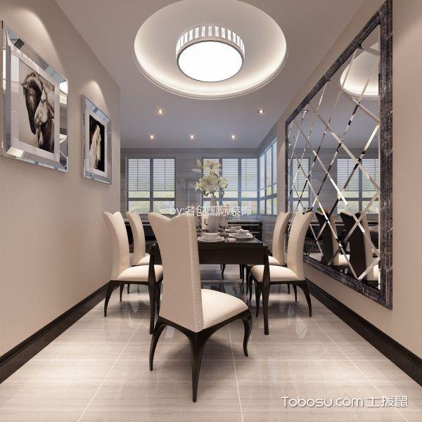 简约风格180平米大户型房子装饰效果图