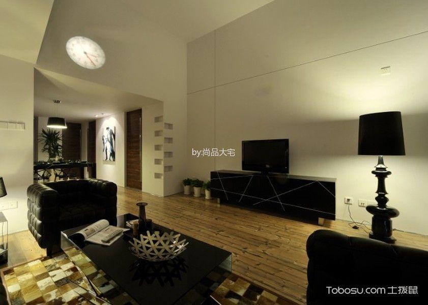 简约风格130平米3房1厅房子装饰效果图