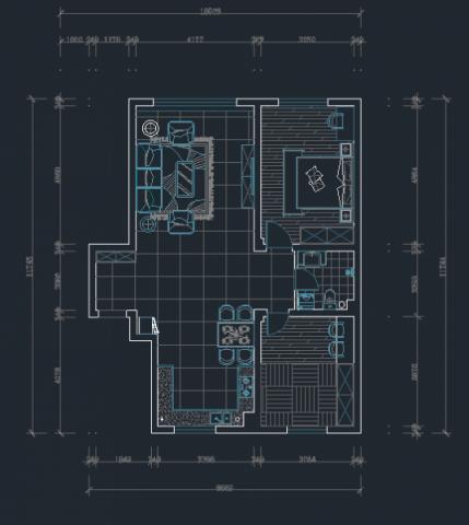 2020简欧150平米效果图 2020简欧四居室装修图