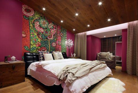 混搭风格109平米两室两厅室内装修效果图