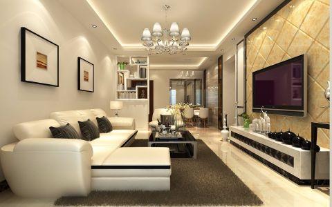 简欧风格150平米四室两厅室内装修效果图