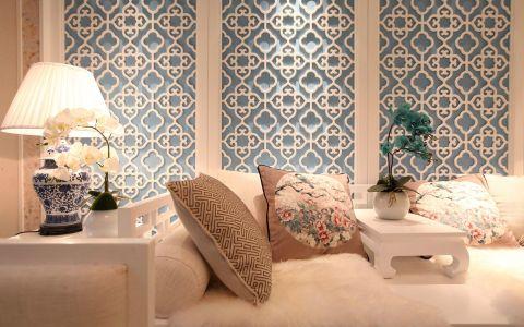 客厅沙发中式风格装饰效果图