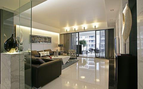 现代简约风格80平米两室两厅室内装修效果图