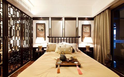 卧室隔断简约风格装饰效果图