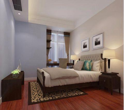 卧室新中式风格装修效果图