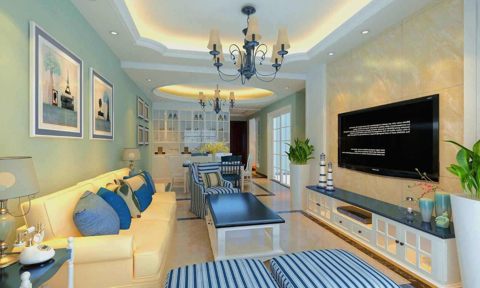 3室1卫2厅88平米混搭风格