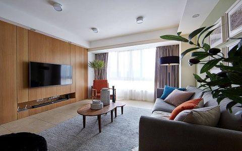 现代风格120平米3房2厅房子装饰效果图