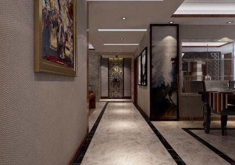 玄关吊顶新古典风格装饰设计图片