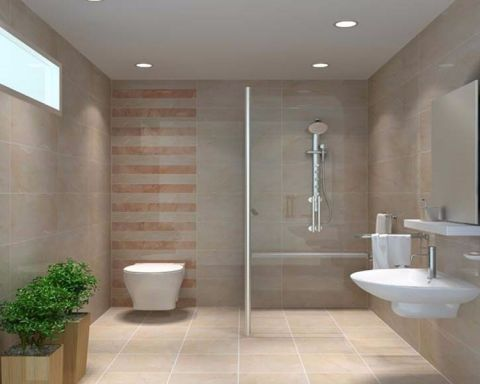 卫生间吊顶新中式风格装饰图片