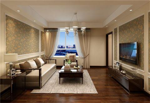 现代中式风格209平米别墅房子装饰效果图