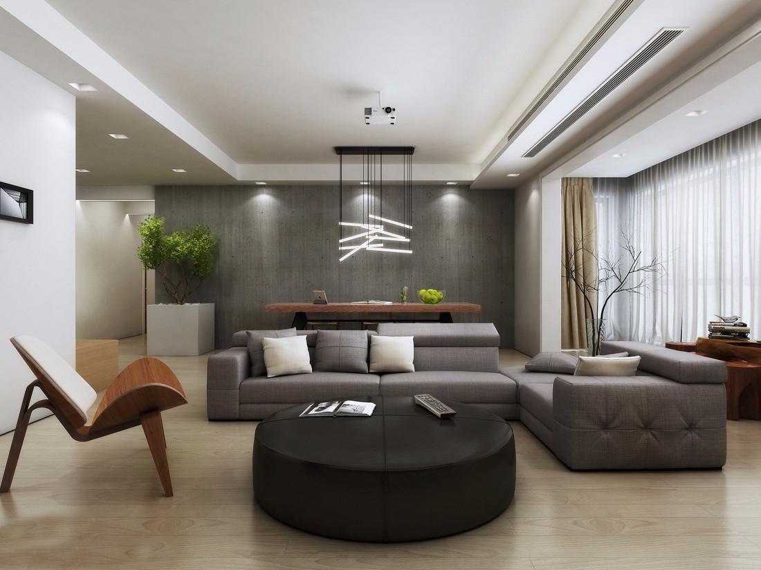 2室1卫2厅70平米简约风格