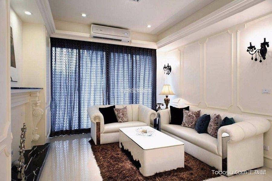欧式风格135平米4房2厅房子装饰效果图