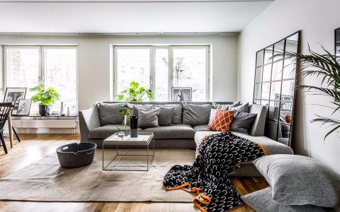 2020简约90平米装饰设计 2020简约楼房图片