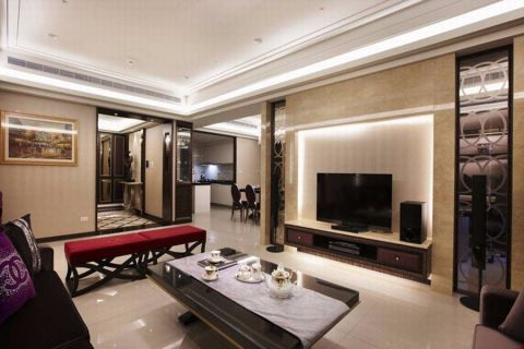客厅欧式风格装饰图片