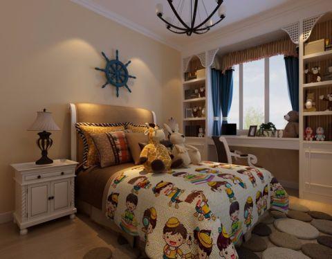 卧室背景墙田园风格装修效果图