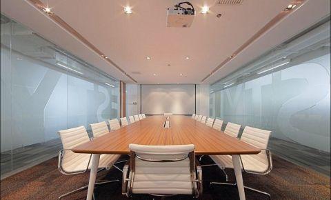 25万简约工业风办公室装修效果图
