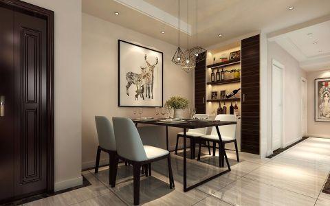 阿奎利亚城果100平方现代简约三居室风格效果图