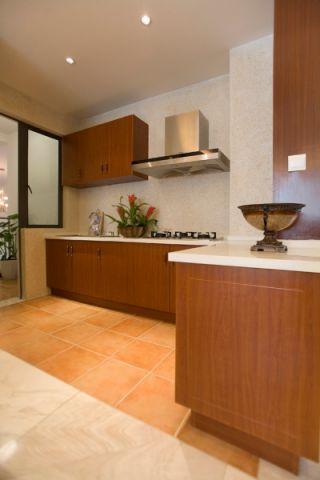 厨房橱柜东南亚风格装饰设计图片