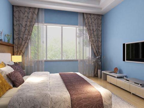 简约风格100平米两室两厅室内装修效果图
