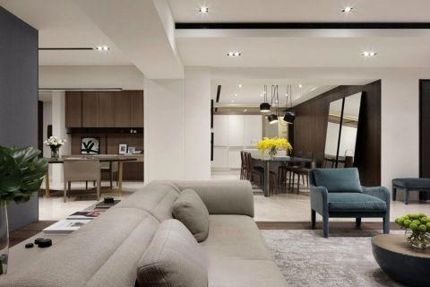 客厅现代简约风格装修图片