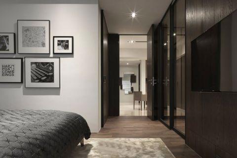 卧室现代简约风格装修设计图片