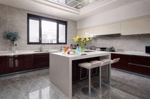厨房吧台现代简约风格装饰图片