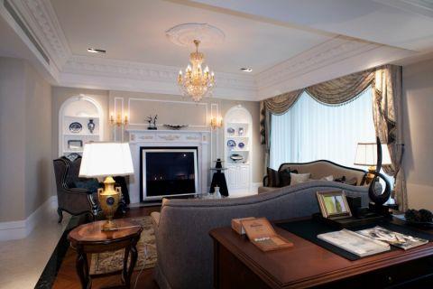 欧式风格140平米3房2厅房子装饰效果图