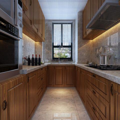 厨房吊顶中式风格装饰设计图片