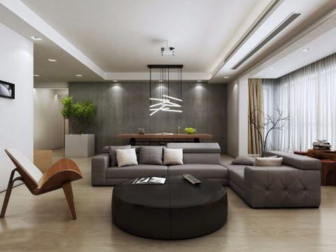 简约风格80平米两房两厅新房装修效果图