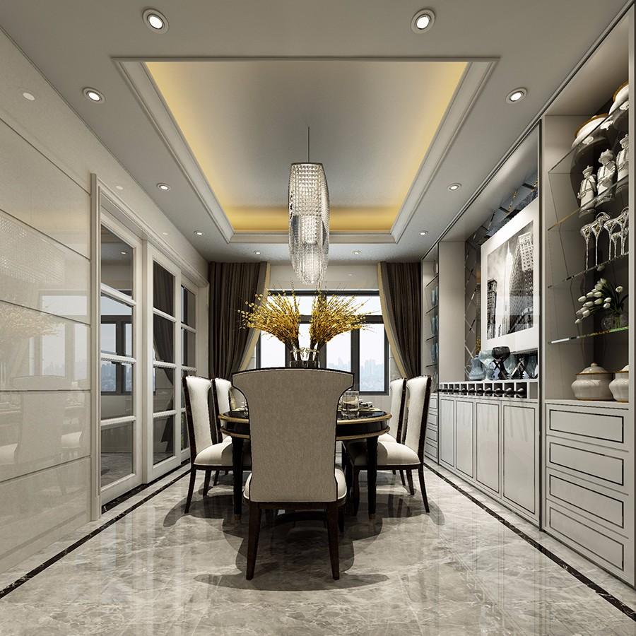 4室2卫2厅190平米简欧风格