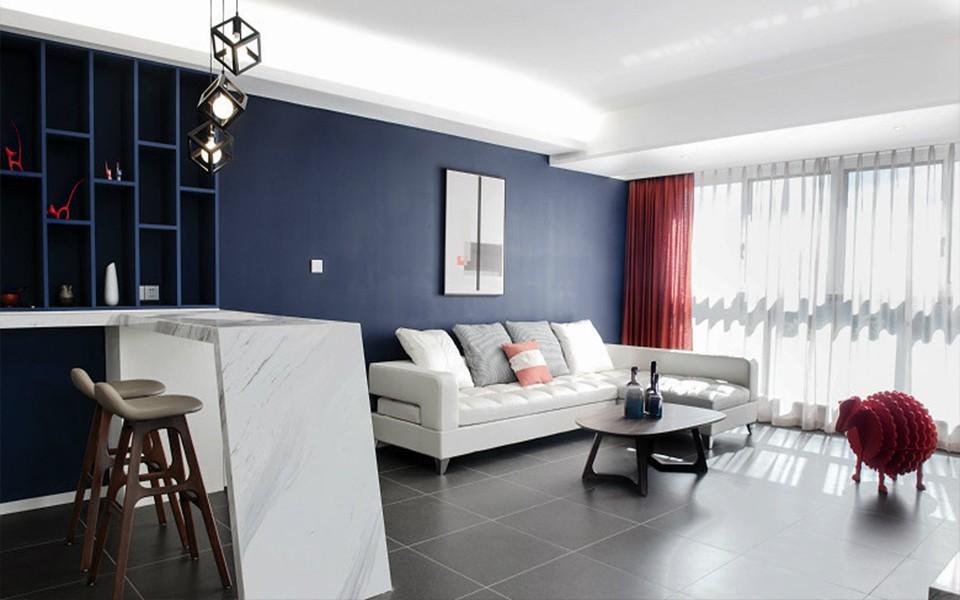 3室1卫2厅89平米现代简约风格