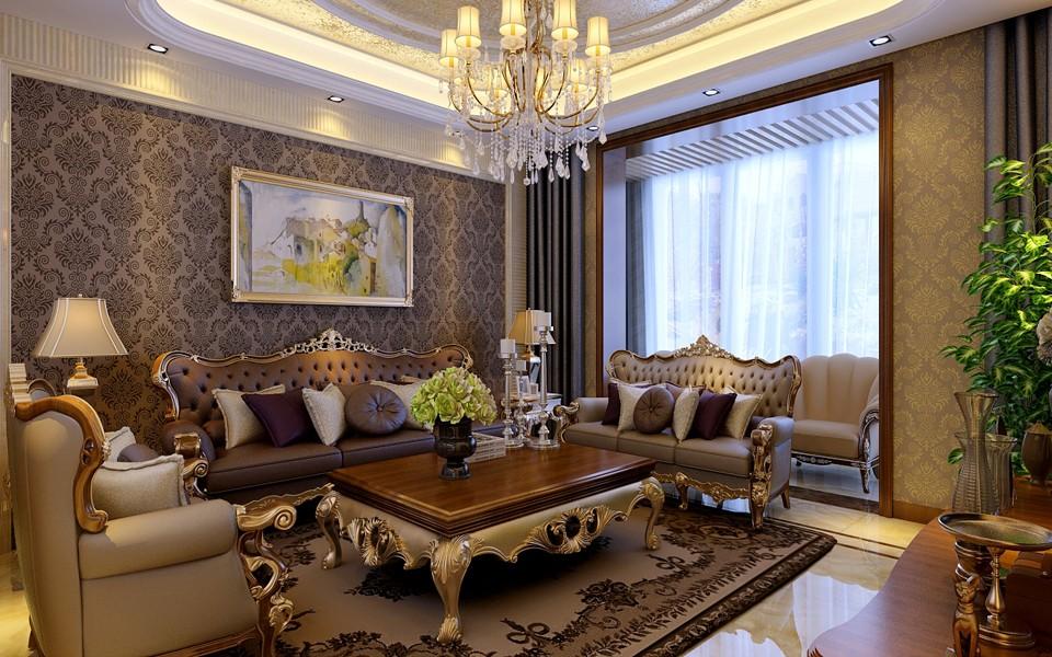 3室2卫1厅190平米美式风格