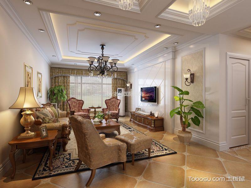 简欧风格144平米套房房子装饰效果图