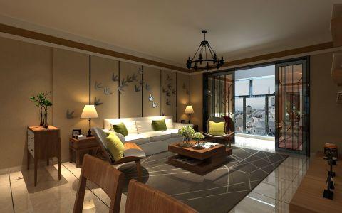 新古典风格200平米大户型房子装饰效果图