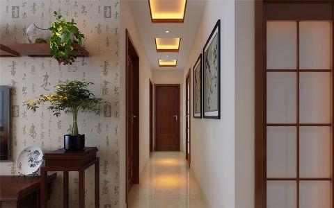 玄关走廊新中式风格效果图
